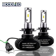 Car Headlight LED H4 H7 Led H1 H3 H11 H13 H16 880 881 9004 9005 9006 9007 Auto S1 Light Bulb 50W 8000LM 6500K 2pcs