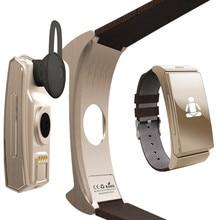 Original Uwatch U20 Umini reloj Pulsera Inteligente + Auricular/auricular MTK2502 Pulsómetro Bluetooth Rastreador de Ejercicios