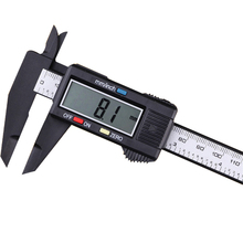 0-150 мм Пластик Цифровой Штангенциркуль Калибр Цифровой Измерительный Инструмент Толщина Калибра Глубиномер