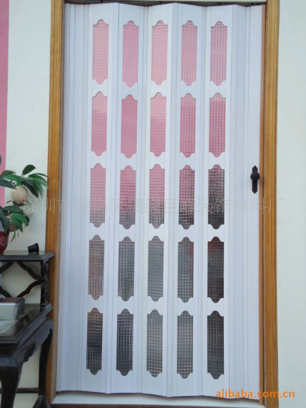 $15 off per $150 order PVC folding door factory direct, sliding door .