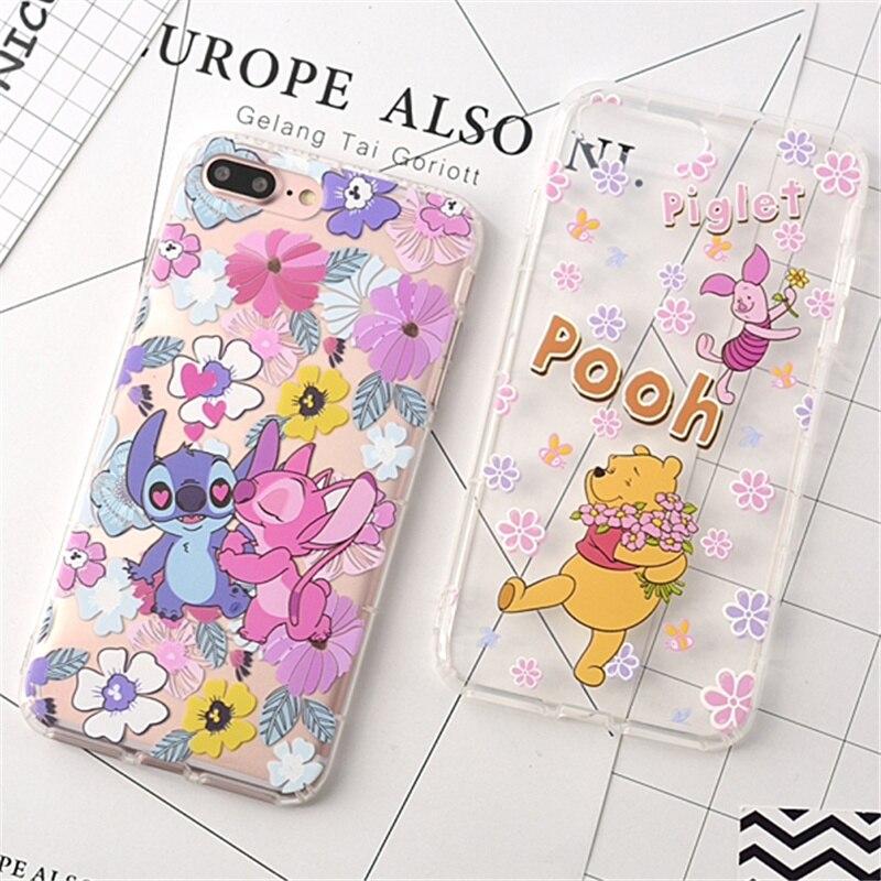 100 pièces étui pour iphone 6 6 s 7 8 plus étui en Silicone point mon voisin Totoro TPU coques de téléphone housse pour iphone X XR