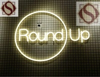 Customized LED Neon Light Store Sign Flexible LED Strip Letters Fully Encased In A Flexible PVC
