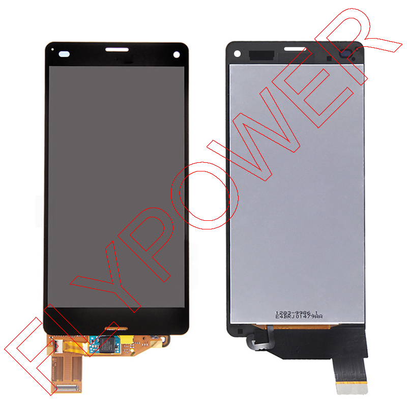 GSM-parts For SONY Xperia Z3 mini Z3 Compact M55W D5803 D5833 LCD Display with Touch Screen Digitizer Assembly by free shipping