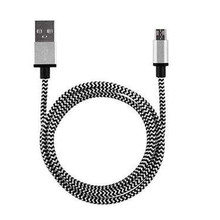 2A Micro USB Data Charger Cable 1M Braided Aluminum Micro USB Data&Sync Faster Charger Cable For Android Phone