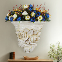 Creative wall hanging flower pot for home decoration