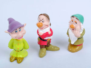 Image 4 - Hot Snow White and the Seven Dwarfs Figures / Cake Topper/ Kids Gift 8pcs