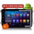 "Erisin ES3025V 8"" 2 Din Android 5.1 DAB+ Car Radio DVD GPS"