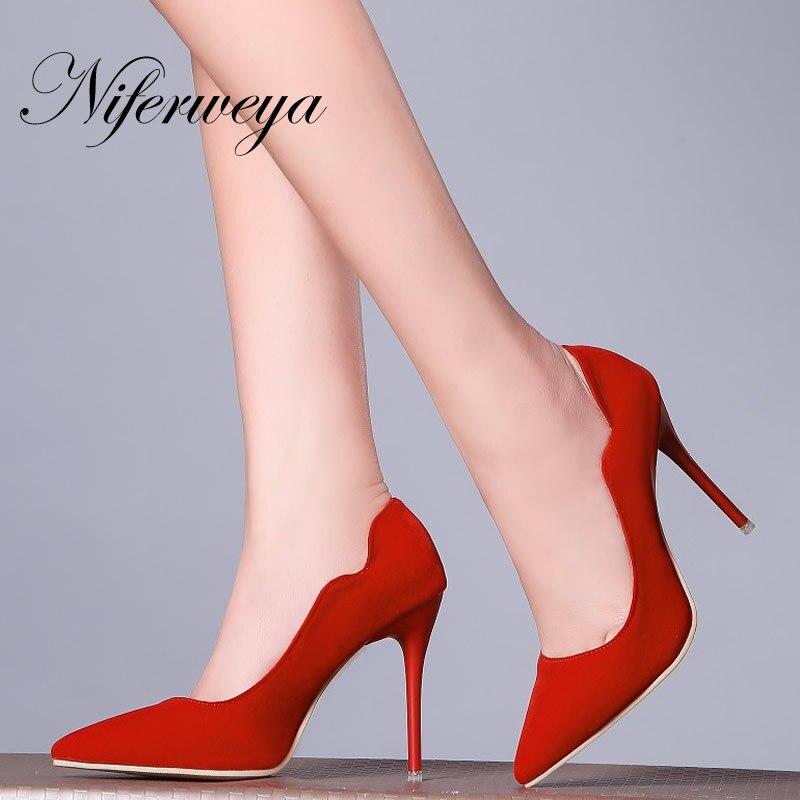୧ʕ ʔ୨Primavera/otoño zapatos la rojos de la zapatos boda de las mujeres 0a5de5