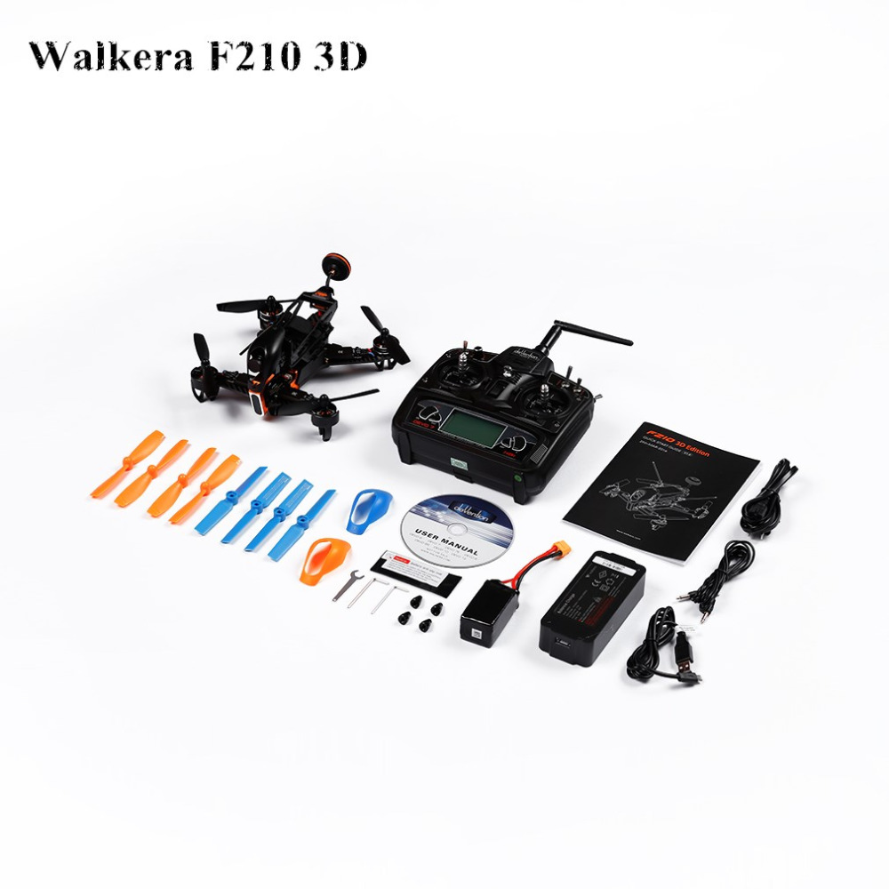 Professional 1x 2.4G Adjustable RC Drone With HD Camera For Walkera F210 3D original walkera cw brushless esc for f210 3d rc drone