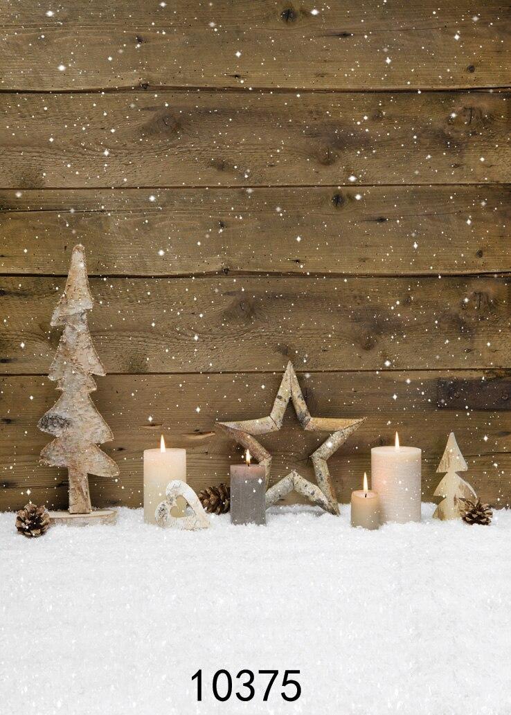Hintergrund Weihnachten.Us 10 15 25 Off Stoff Tuch Benutzerdefinierte Fotografie Backdrops Prop Weihnachten Hintergrund Holz Plank Schnee Vinyl Hintergrunde Fotostudio