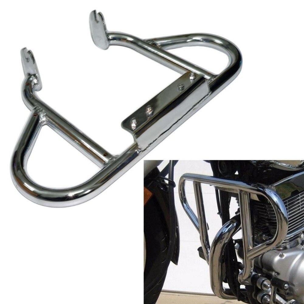 Motorcycle Chrome Crash Bar Engine Guard Protection For 1990-2010 Yamaha Virago XV 125 1988-2010 Yamaha Virago XV 250