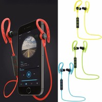Wireless Sports Stereo Sweatproof Bluetooth Earphone Headphone Earbuds Headset With Microphone For IPhone Nokia HTC Samsung