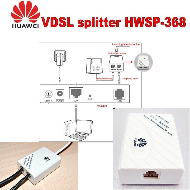 Lot of 10pcs Huawei separator HWSP-368 vdsl splitter 10pcs lot 100
