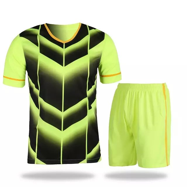 a8addb03b6f 2016 new soccer jersey custom team uniforms green color kits cheap shirts  wholesale jerseys with shorts with own design logos