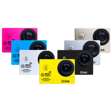 KaRue 10pcs/lot Sports Cameras 1080P Action Camera 12MP WiFi  30M Waterproof With 2.0 LCD Screen Full HD  DVR