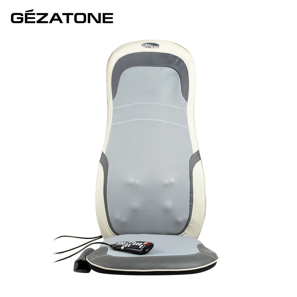 Massage Tools Gezatone 1301142 chair cape back roller massager bust breast roller enhancer massager red white