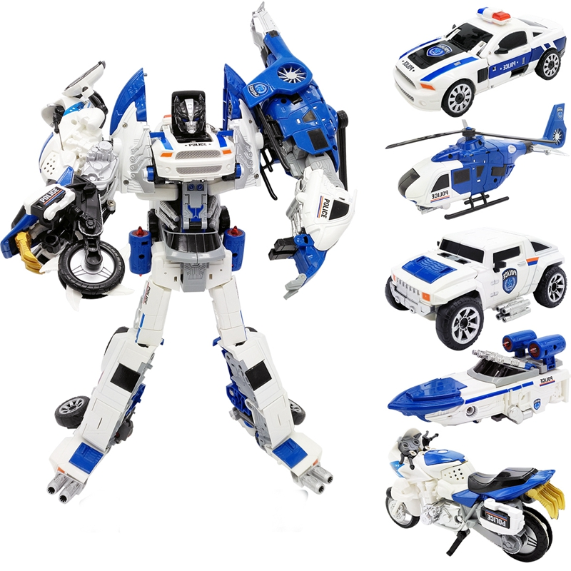 <font><b>Transformation</b></font> Alloy Deformation Robot <font><b>2</b></font> In 1 Car Model Vehicle <font><b>Toys</b></font> Action Figure Boys <font><b>Transformative</b></font> <font><b>Toys</b></font> Gift image