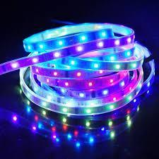 10 M 5050 RGB rêve couleur magique 6803 IC LED bande lumière 133 changement RF à distance et 12V6A 72 W puissance US/EU/UK/AU - 5