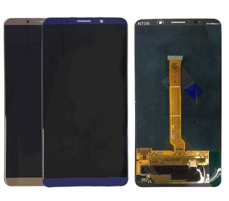 5.9 Pouce Pour Huawei Mate10 Pro Lcd Affichage à L'écran Tactile Digitizer Assemblée Pièces De Rechange Noir/Bleu/Moka/Rose D'or + Outils