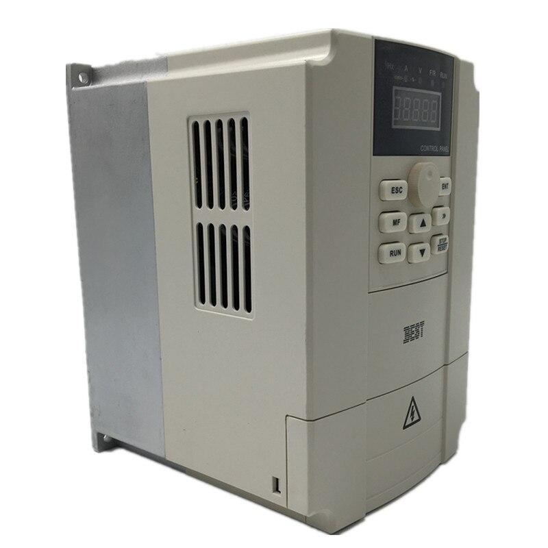 3.7kw 5HP VFD Inverter Single-phase 220 V 0-1000Hz 18A Variable Frequency Drive für CNC Gravur maschine Spindel Geschwindigkeit Control