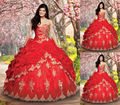 Coral quinceanera vestidos red sweet 16 dresses vestido de 15 vestidos de 15 anos vestidos de quinceanera robe de bal vestido quinceanera