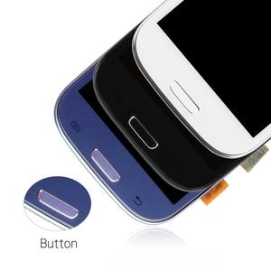 Image 5 - لسامسونج غالاكسي SIII S3 Neo i9301 i9300i i9308i i9301i LCD شاشة عرض تعمل باللمس محول الأرقام زجاج الإطار الجمعية استبدال
