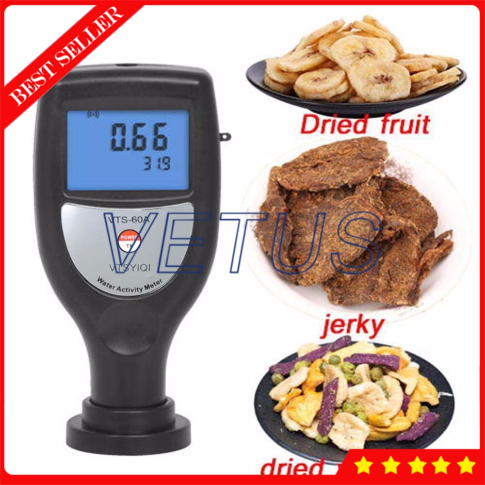 VTS 60A Pocket Type Digital Water Activity Test Tools Food Water Activity Meter Analyzer for Beef