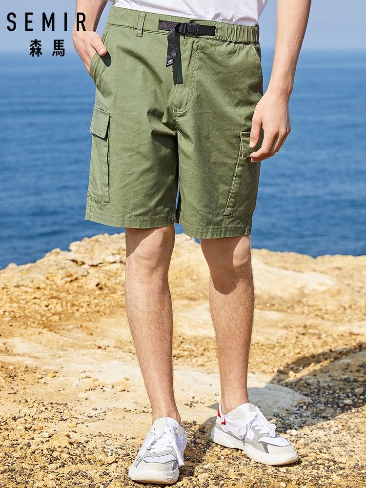 SEMIR Casual Shorts Men 2019 Summer New Loose Comfortable Short Men's Tide Brand Overalls Students