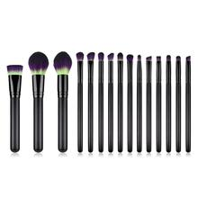 15 Pcs Professional Makeup Brushes Set Kabuki Foundation Powder Eyeliner Eyeshadow Lip Blending Brush Make up Accessories Tools jessup buy 3 get 1 gift makeup brushes set foundation blush liquid kabuki eyeshadow eyeliner lip contour make up brush smudge