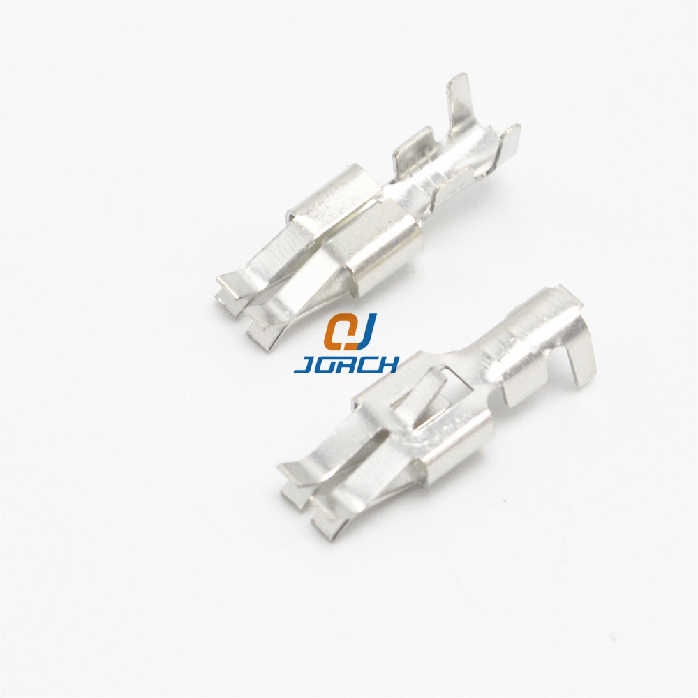 AMP female electrical car crimp terminal pins for wire connector