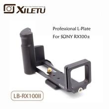 Xiletu LB-RX100II  Quick Release Plate Professional L Ball Head For Sony RX-100II 2 Arca Swiss Width 38mm
