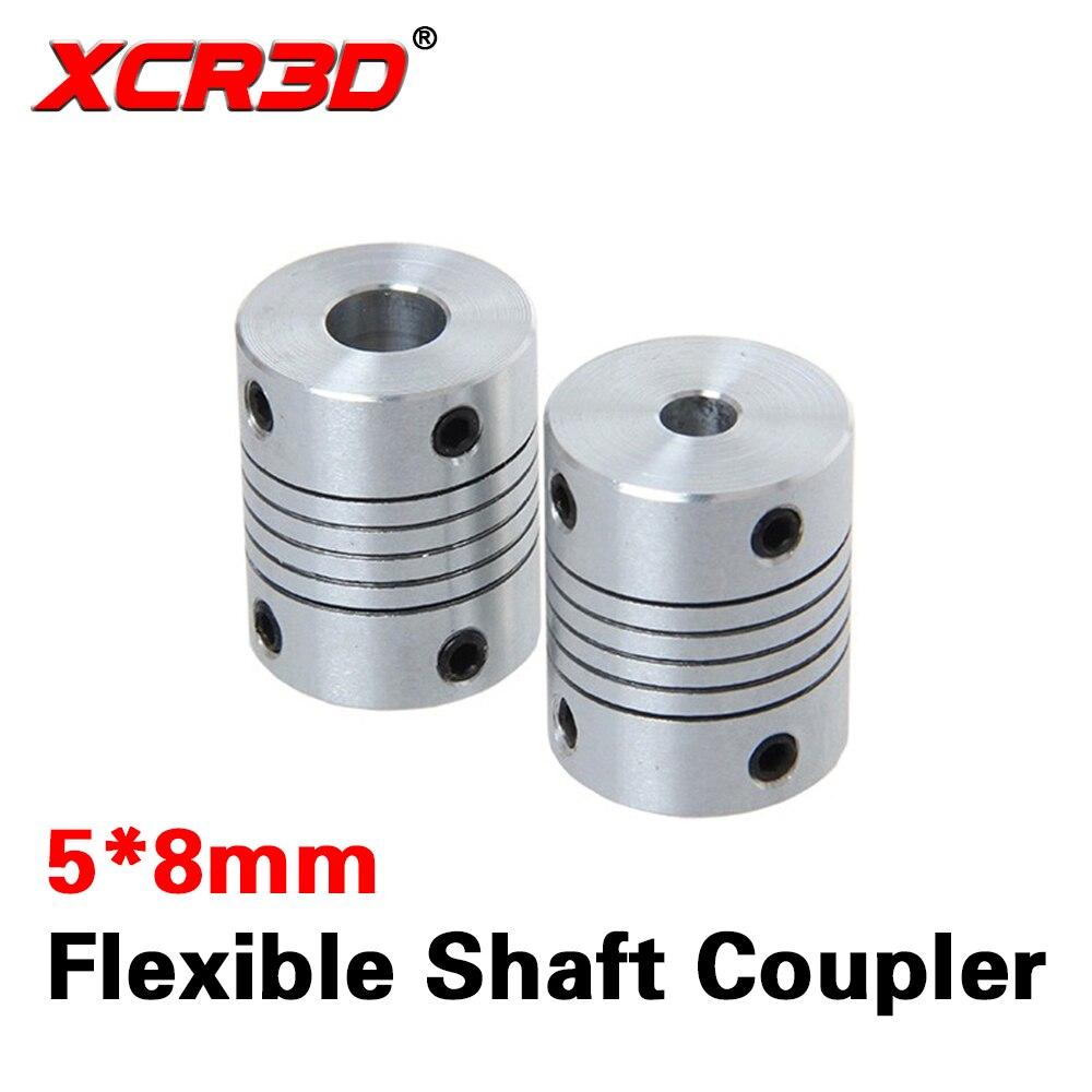 CNC STEPPER-SERVO ETC 2 Gear Grip Flexible Shaft Couplings