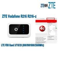 Vodafone R216 R216-z (с антенной) Карманный Wifi беспроводной маршрутизатор PK huawei E5573 E5577 E5372 zte MF910