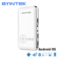 BYINTEK UFO MD323 Portable Smart Home Theater Pocket Android Wifi projector HD 1080P Micro Mini LED DLP Projector