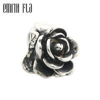 Emith Fla 100 925 Sterling Silver Rose Of June Charm Beads Fit Original European Troll Bracelets