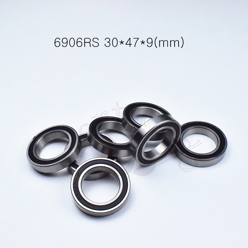 6906RS 30*47*9(mm) 1Piece Bearings Rubber Sealed Bearing Thin Wall Bearing 6906 6906RS Chrome Steel Bearing
