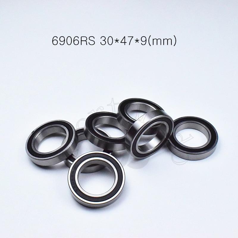 6906RS 30*47*9(mm) 1Piece Free Shipping Bearings Rubber Sealed Bearing Thin Wall Bearing 6906 6906RS Chrome Steel Bearing