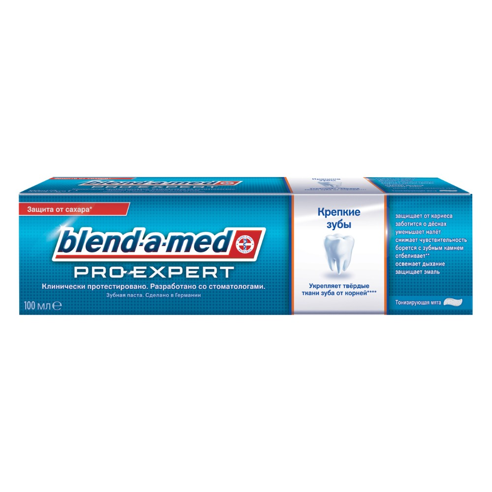 Toothpaste Blend-a-med ProExpert Strong Teeth Toning Mint 100ml new arrival soft gingival dental mold removable teeth may gingival oral teaching model gingival practice teeth mold teeth model