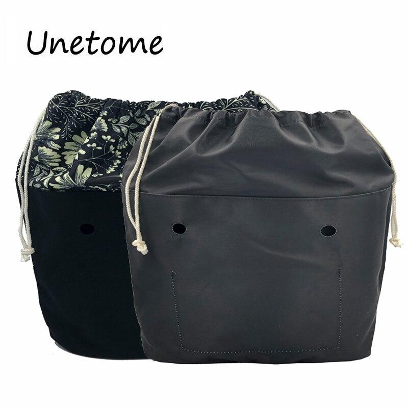 Водонепроницаемая подкладка со шнурком и внутренним карманом для классической мини-сумки