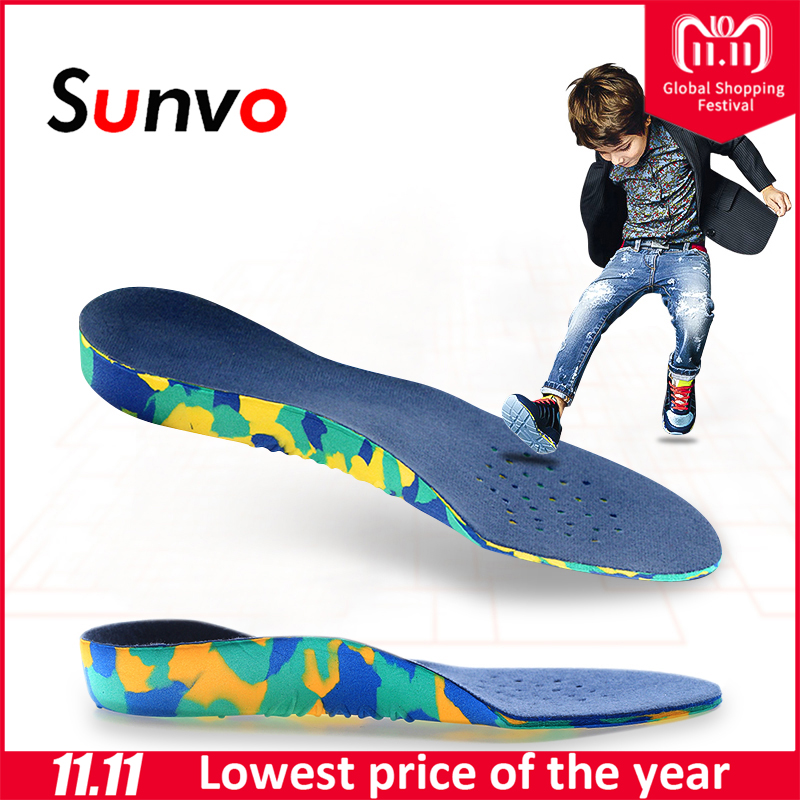 Sunvo Children Orthotics Insoles Correction Care Tool for Kid Flat Foot Arch Support Orthopedic Insole Soles Sport Shoes Pads sunvo children orthotics insoles correction care tool for kid flat foot arch support orthopedic insole soles sport shoes pads