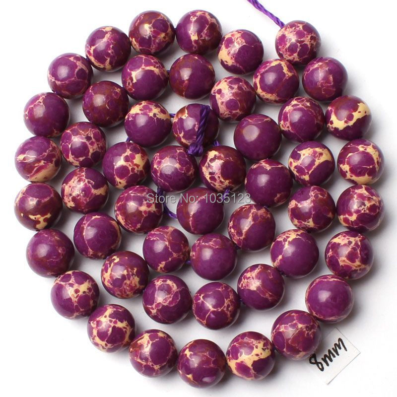 Free Shipping AAA 8mm Natural Purple Crazy Lace Agates Round Shape Loose Beads Strand 15 Jewellery Making w1482