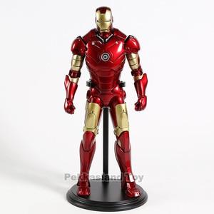 Image 3 - Железный человек МК Mark 3 III большая статуя 1:6 экшн фигурка Коллекционная модель игрушка