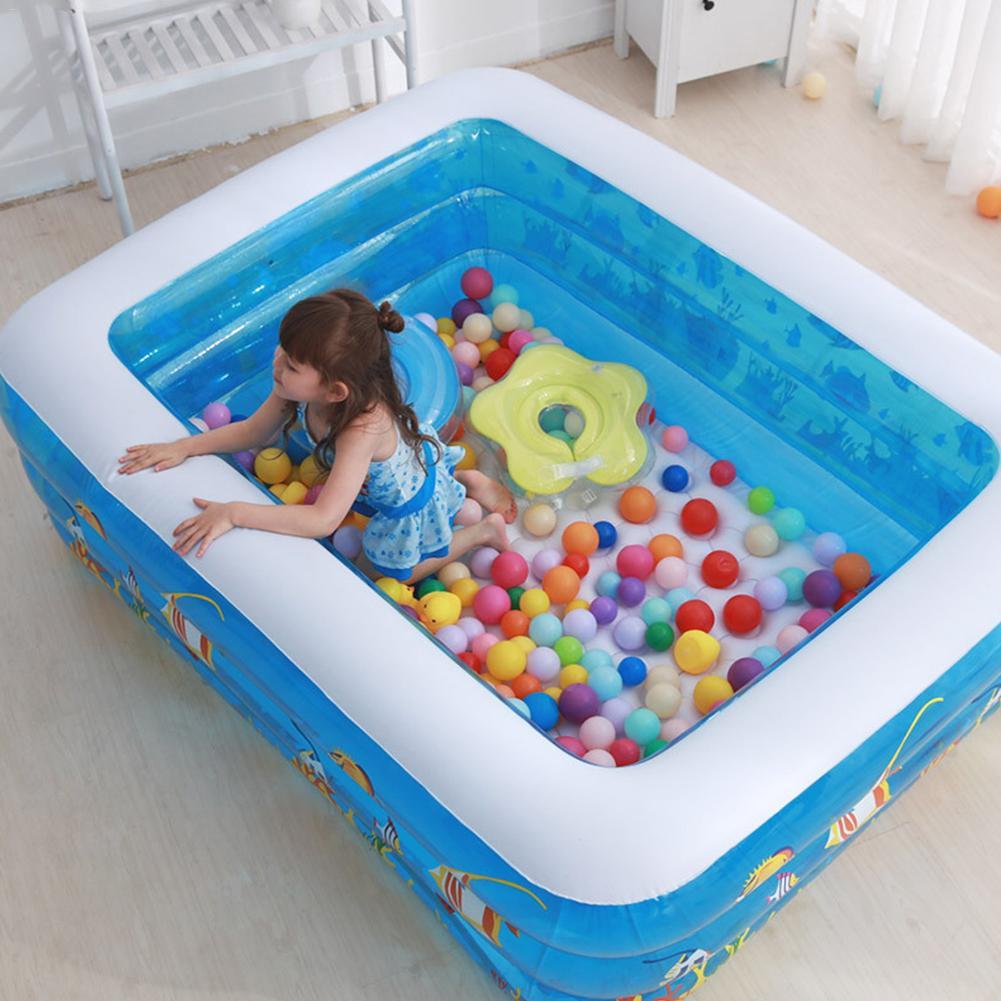 Gonflable bébé bain baignoires nouveau-né épaississement enfants dessin animé Portable baignoire seau sécurité piscine