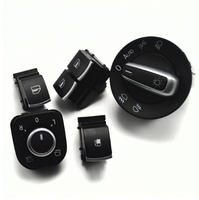 Mirror headlight Window fuel tank Switch for VW Eos Golf Mk5 MK6 GTI RIBBIT R32 5ND941431B 5K3959857A 5ND959855 5KD959833