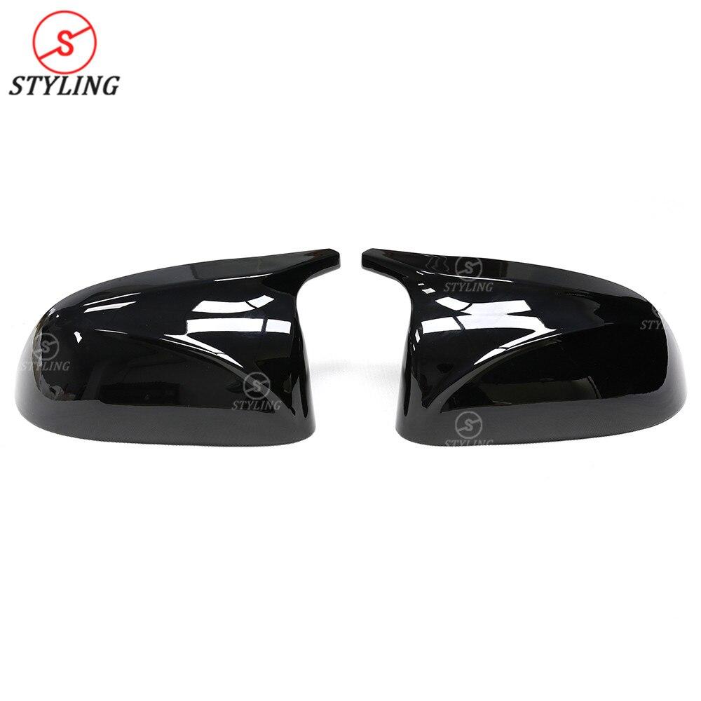 X5 G05 M вид тип зеркала крышка для BMW X3 G01 X4 G02 глянцевый черный и белый боковые заднего вида зеркальные колпачки замена крышки 2018 2019 - 2