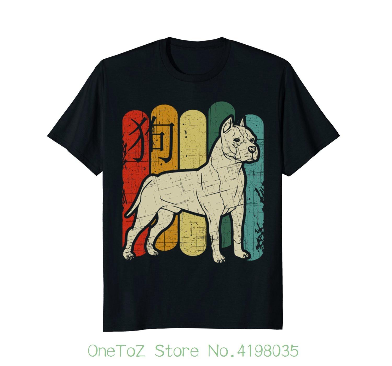 Питбуль Vintaget рубашка подарок шею best Продажа Мужской натуральная хлопковая рубашка