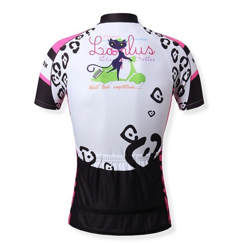 2015-Cat-girl-Women-s-Bike-Sportwear-Cycling-Clothing-Bicycle-Short-Sleeve-Jersey-Top-Quick-Dry (1)