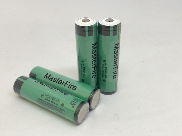MasterFire 10PCS/LOT Original Protected 18650 NCR18650A Rechargeable Lithium battery 3100mAh Batteries with PCB For Panasonic
