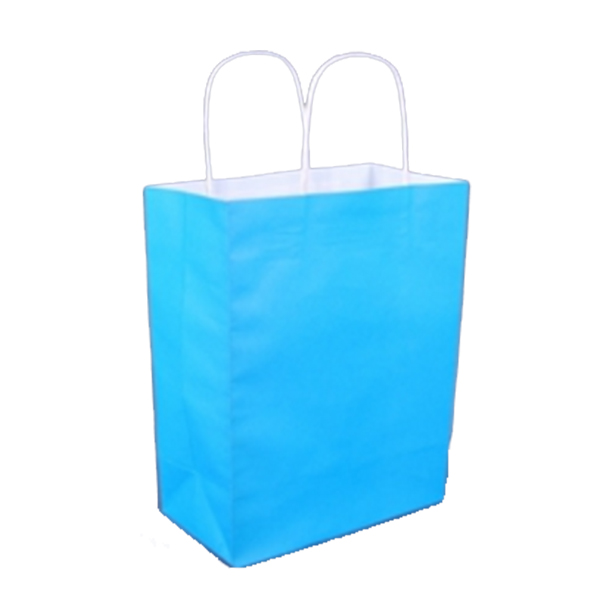 ABDB Square Pocket Shopping Bag Candy 6 Colors Available Eco-friendly Reusable Folding K ...