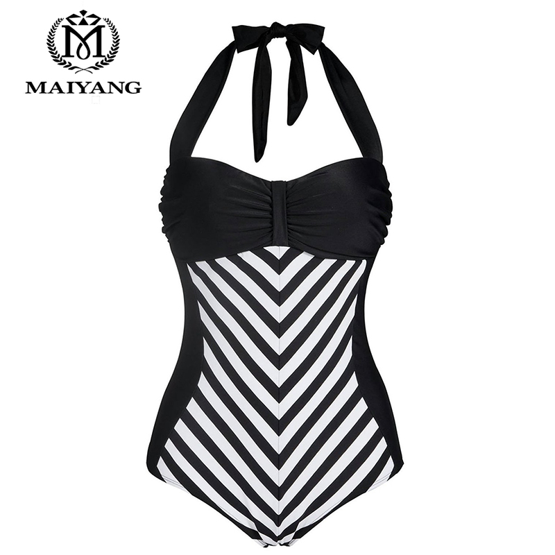 MiYang One Piece Print Swimsuit Swimwear Women Suits White&Black Monokini Large Size Trikini Summer Dress Bodysuit  YZ-BSA160301 furnishings brief modern k9 crystal flower pendant light fixture european fashion home deco living room diy glass pendant lamp